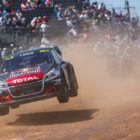 Sebastien Loeb completed his third full World RX season with another podium in South Africa