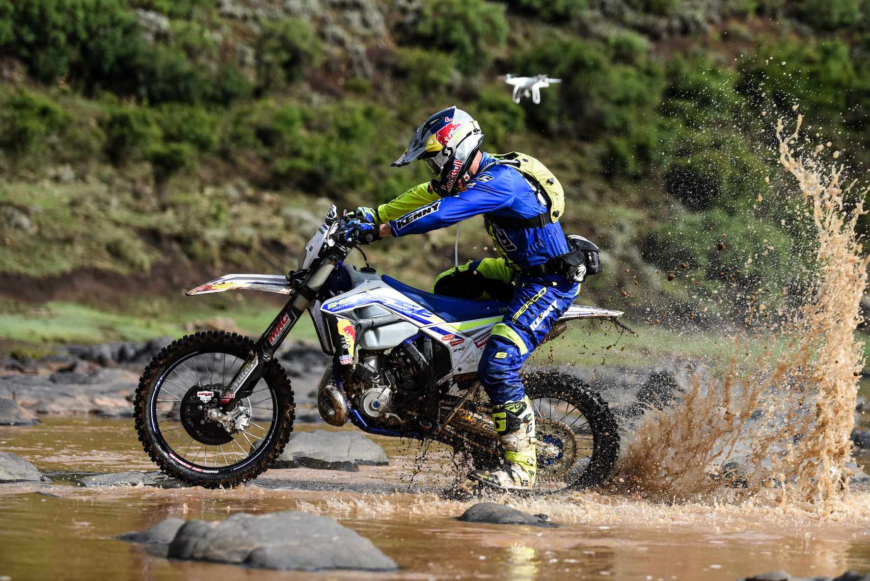 Wade Young victorious again at the 2018 Roof of Africa extreme enduro