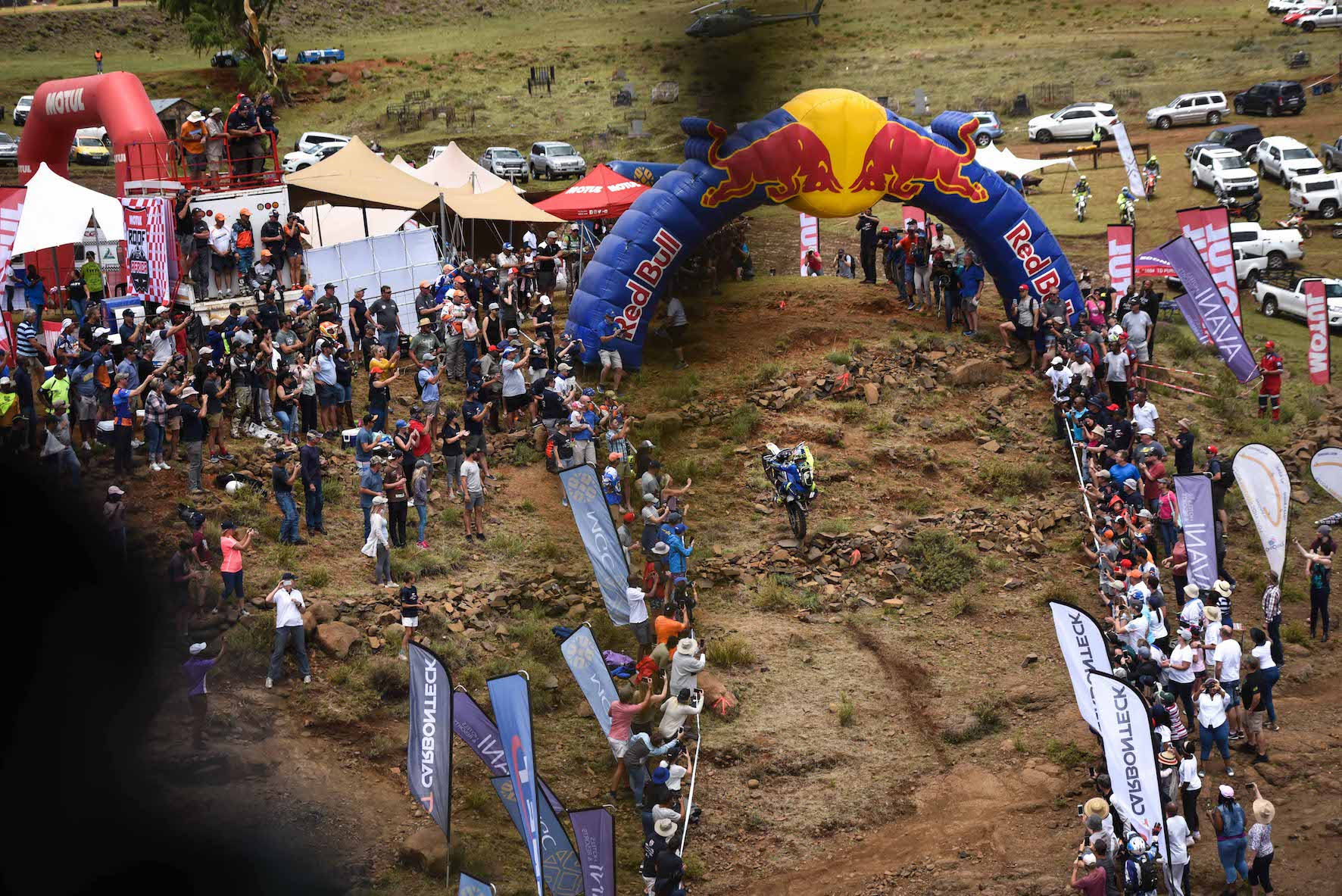 2018 Roof of Africa finish line