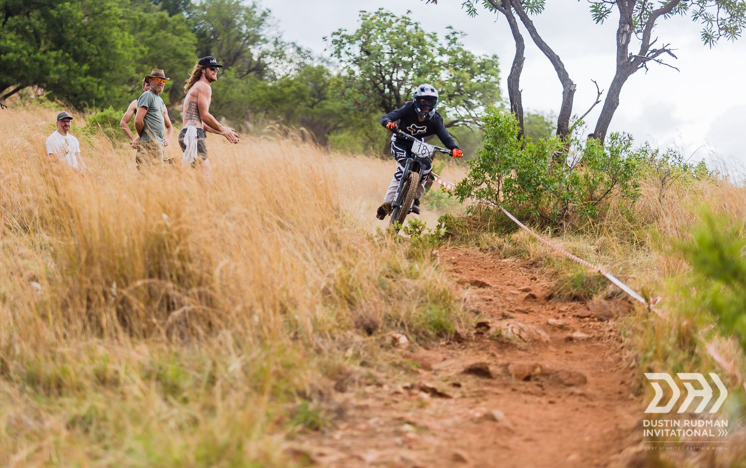 Enduro MTB action from the Dustin Rudman Invitational
