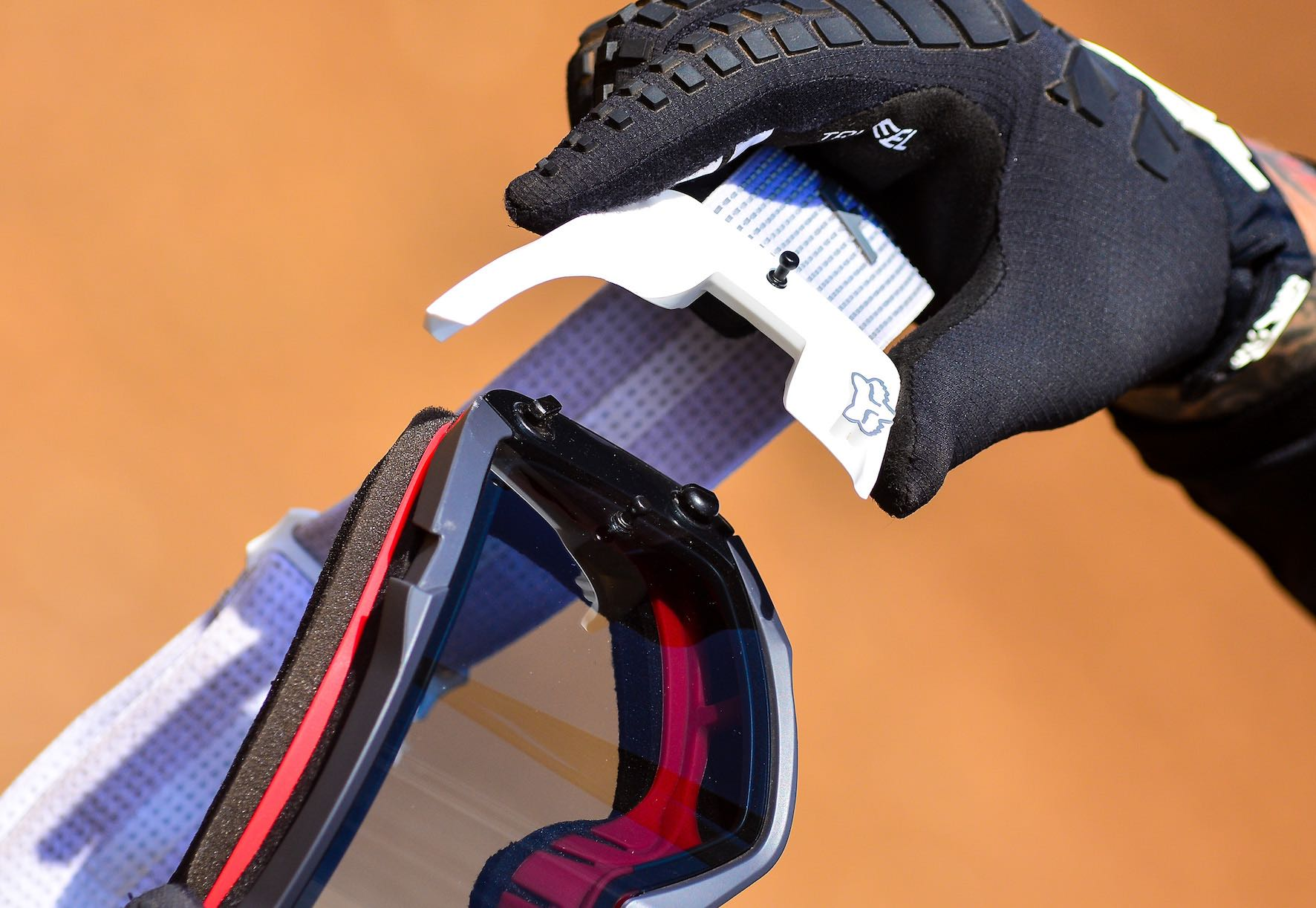 Our review feature with the new Fox VUE Motocross Goggle