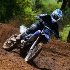 Motocross racing with the new Fox Vue Goggles