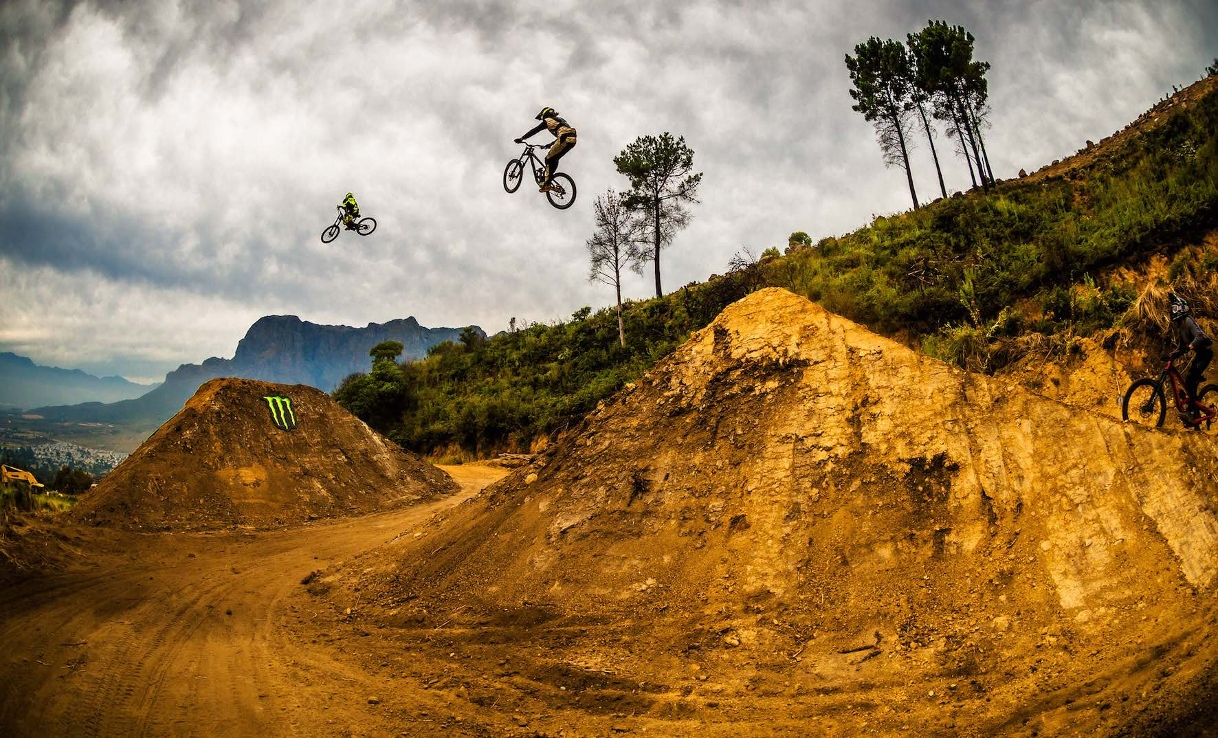 Expect nothing less than the biggest Freeride MTB jumps at DarkFEST