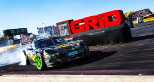Race report from Gymkhana GRiD 2018