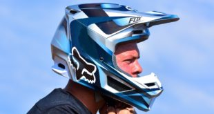 Take a look at our review of the new Fox V1 Motocross Helmet