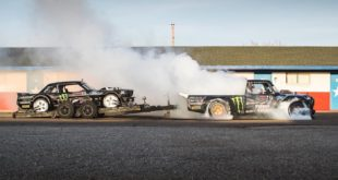 Ken Block and Hoonigan present Block's latest and biggest video project of his career (to-date), Gymkhana TEN: Ultimate Tire Slaying Tour.