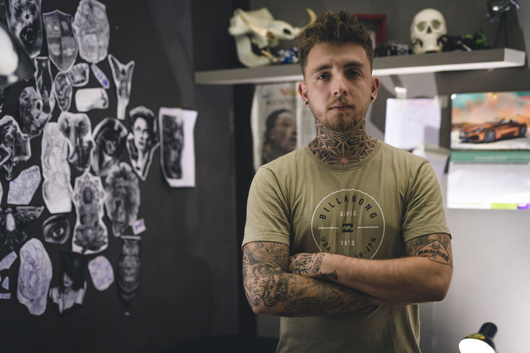 Meet Joey Sasso as our Tattoo Artist of the Week