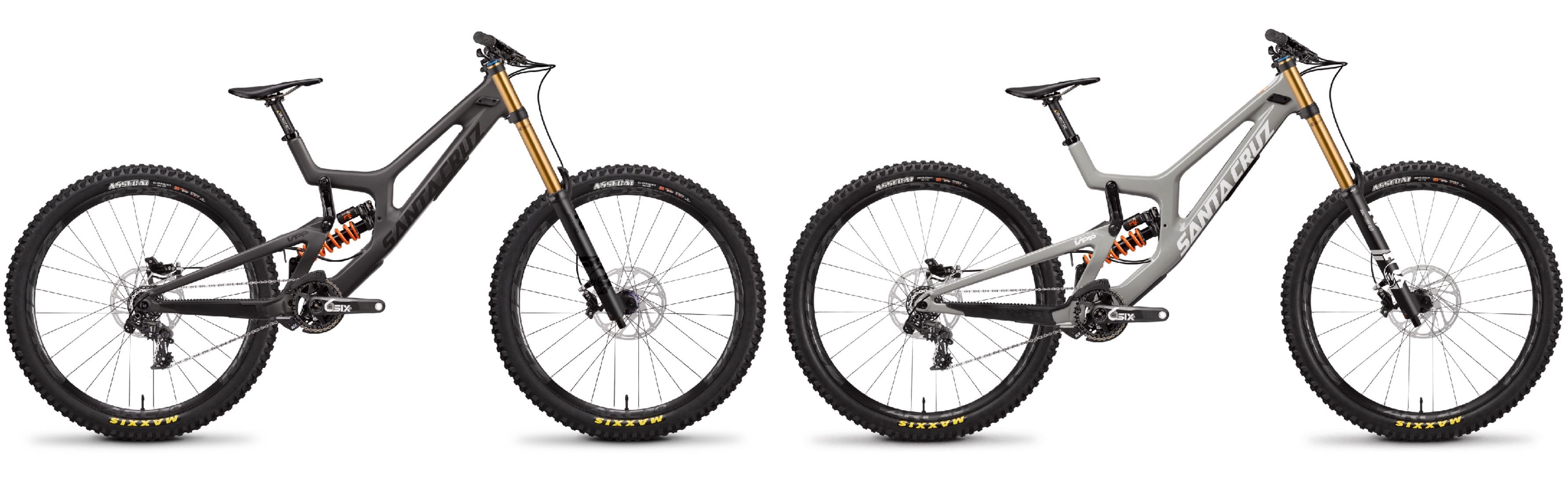 The New Santa Cruz V10 Downhill MTB bike