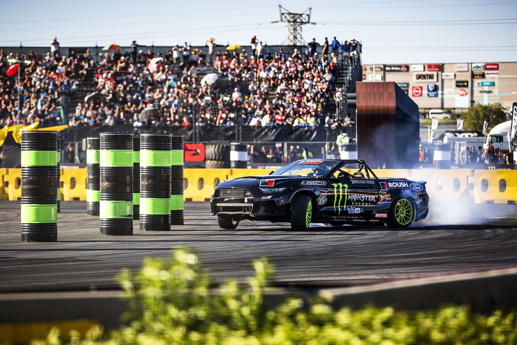 Jason Webb claims 2nd place in the RWD class at Gymkhana GRiD 2018