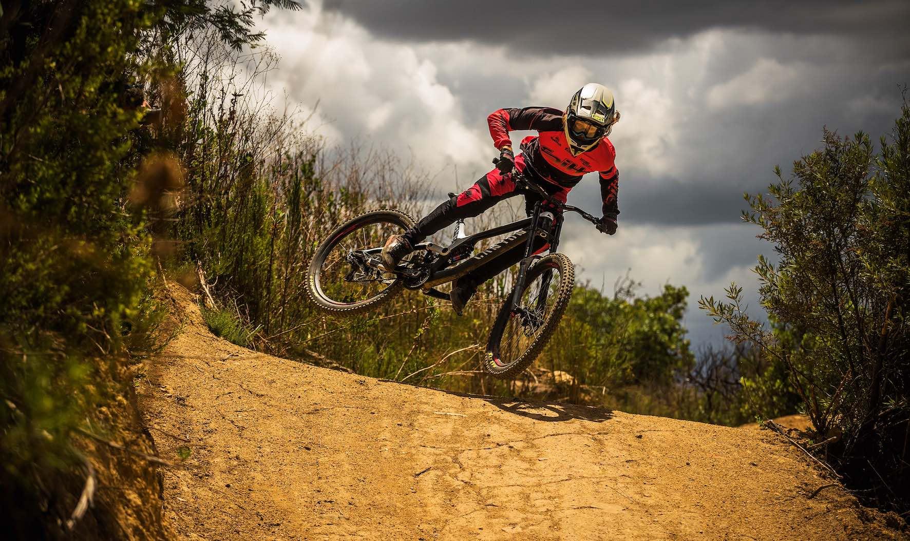 We interview up-and-coming Downhill Mountain Bike rider, Jasper Barrett