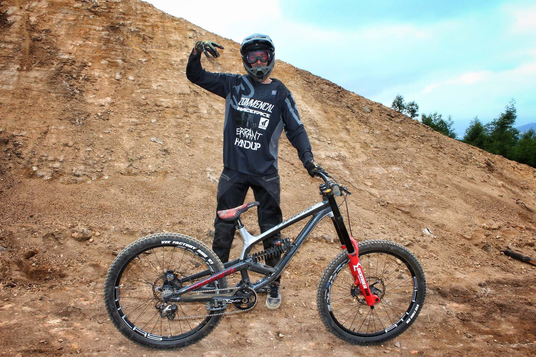 Bikes of DarkFEST - DJ Brandt - Commencal Furious