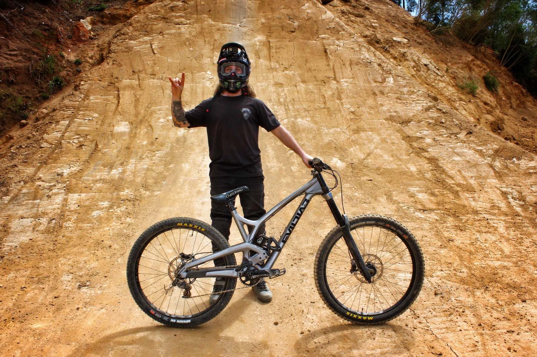 Bikes of DarkFEST - Graham Agassiz - Evil Insurgent Park