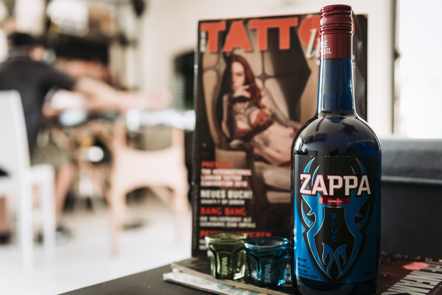 Our tattoo artist of the week features brought to you by Zappa Sambuca