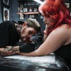 Daniel Forster working our of Heart & Hand Tattoo shop