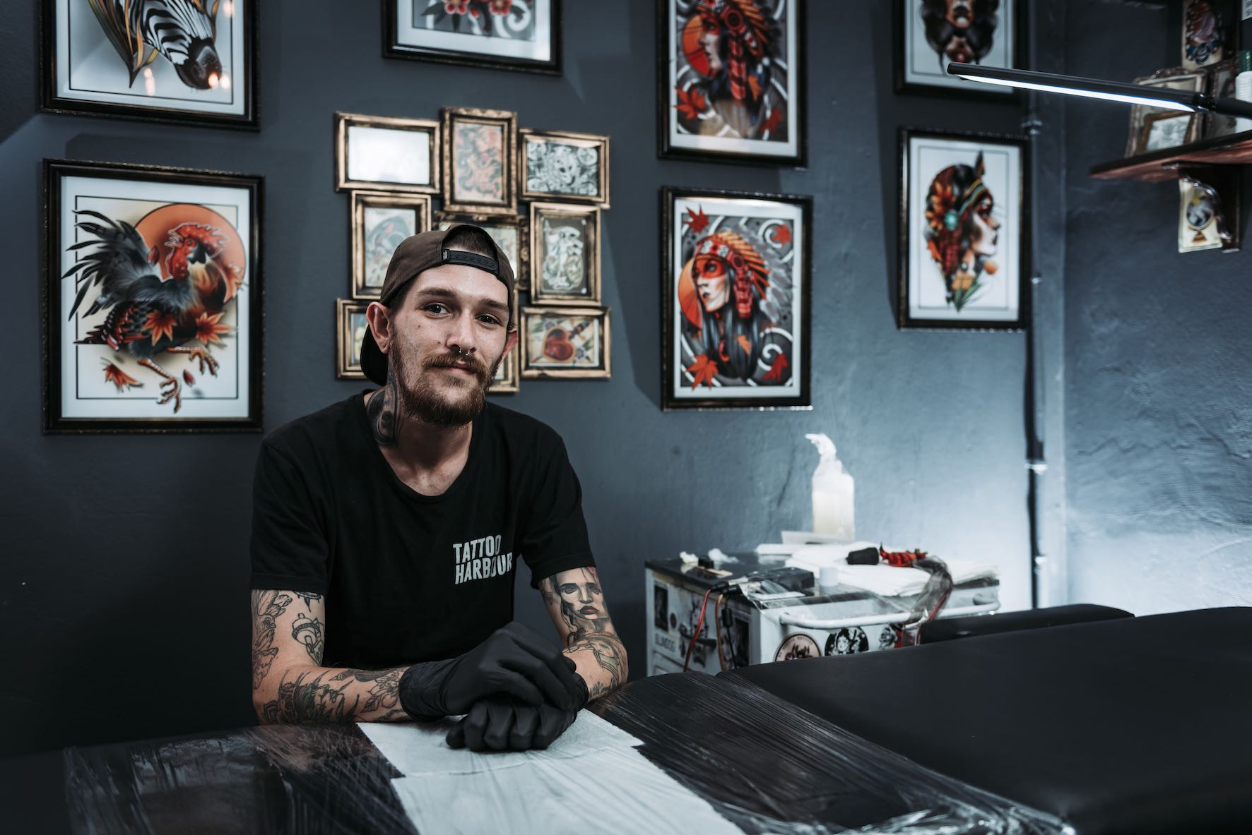 Meet Daniel Forster as our featured tattoo artist