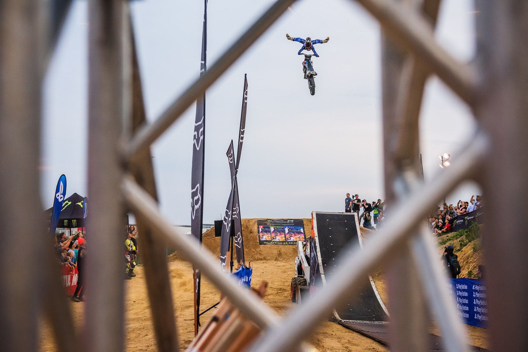 Results from the Freestyle Motocross contest at King of the Whip event