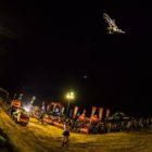 The night show at King of the Whip best whip motocross contest