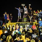 King of the Whip FMX Best Trick Right-Side Up Podium