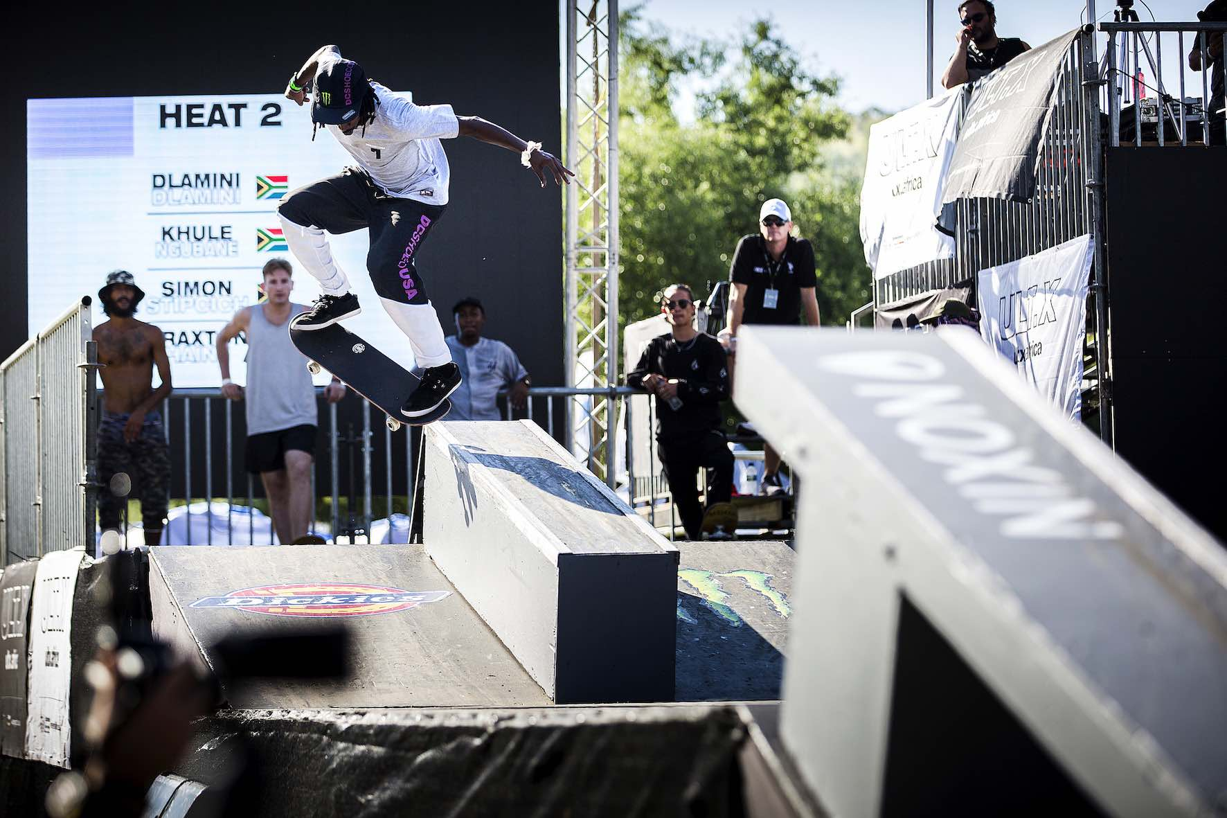 Khule Ngubane taking 2nd place at the Ult.X 2019 Skateboarding contest