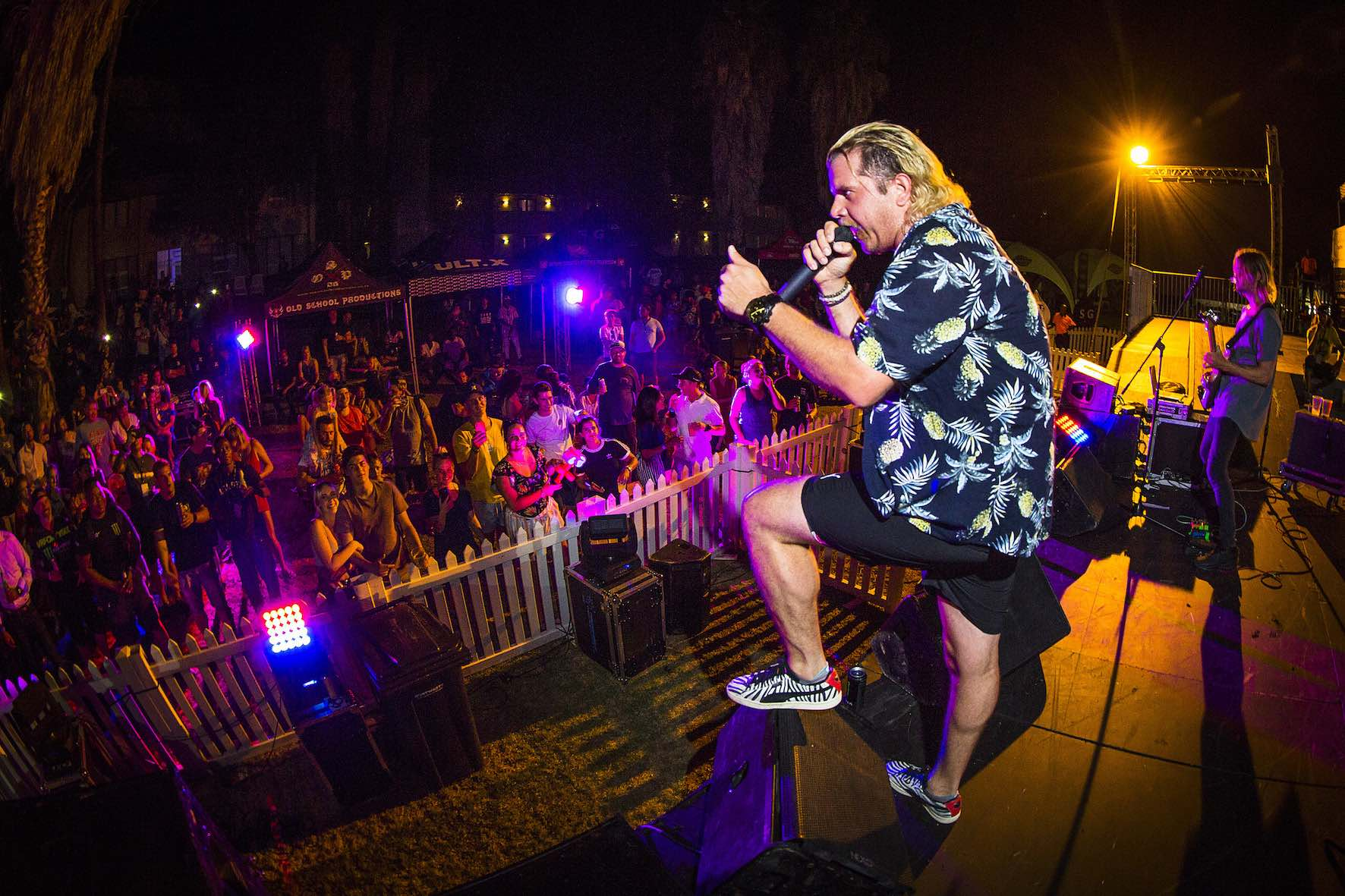 Jack Parow performing at Ultimate X 2019