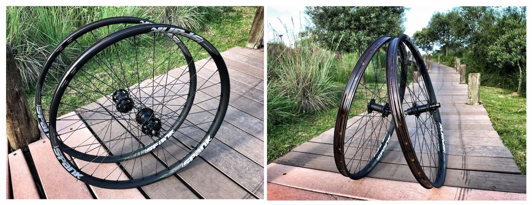 The all new Spank 350/359 Vibrocore Tuned Wheelset