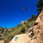Matt Macduff riding the Darkest 2019 Freeride MTB course