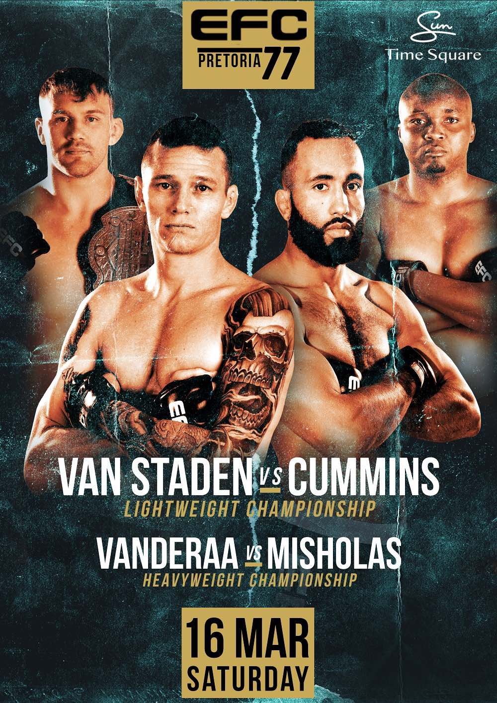 The 2019 EFC schedule kicks off with EFC 77 and 12 explosive MMA fights