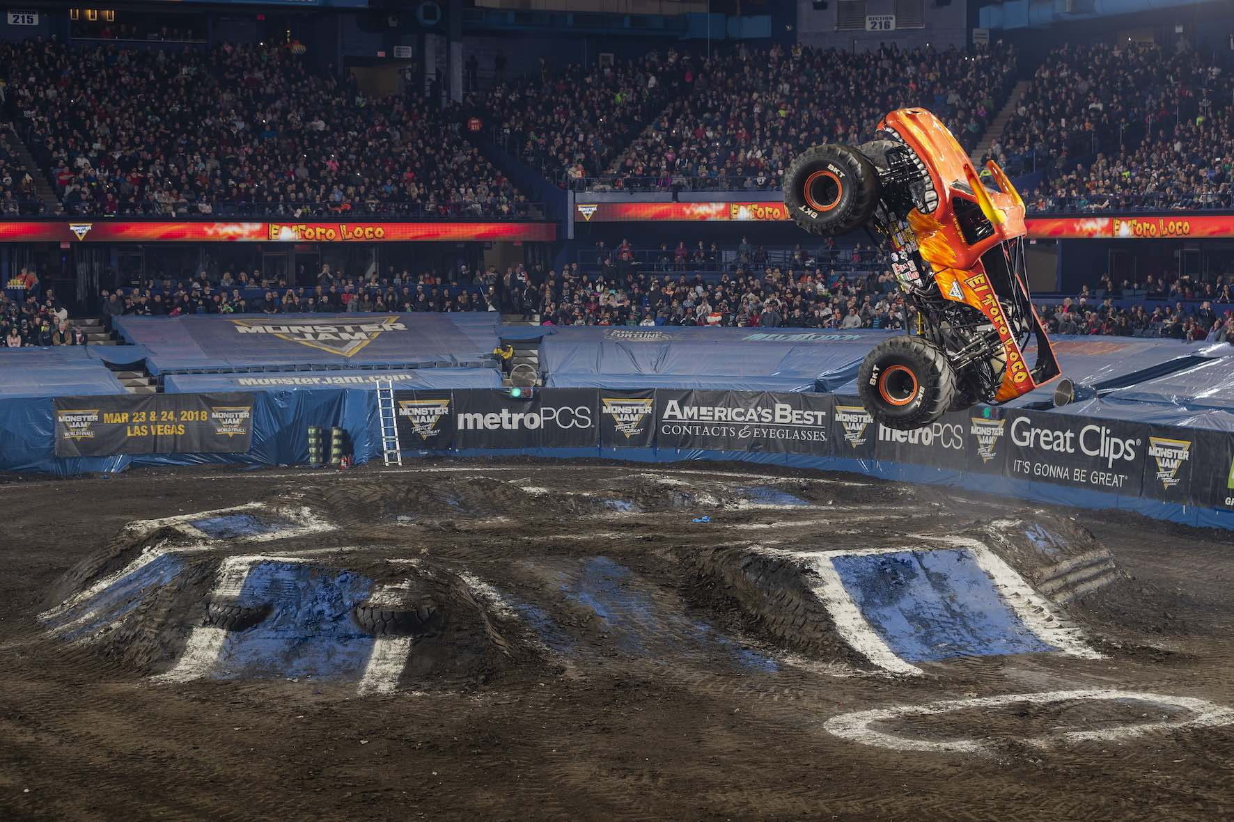 The El Toro Loco Monster Truck is set to perform at Monster Jam in South Africa
