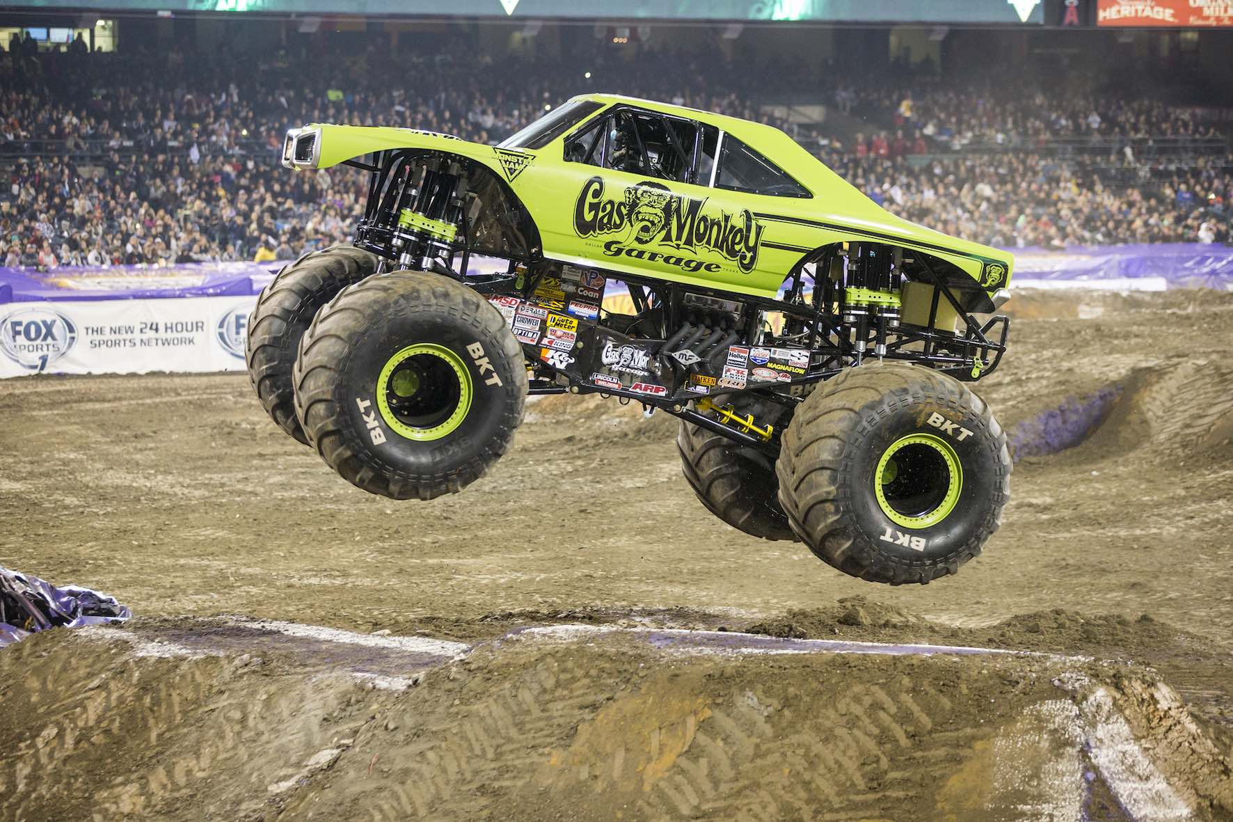 The Gas Monkey Garage Monster Truck is set to perform at Monster Jam in South Africa