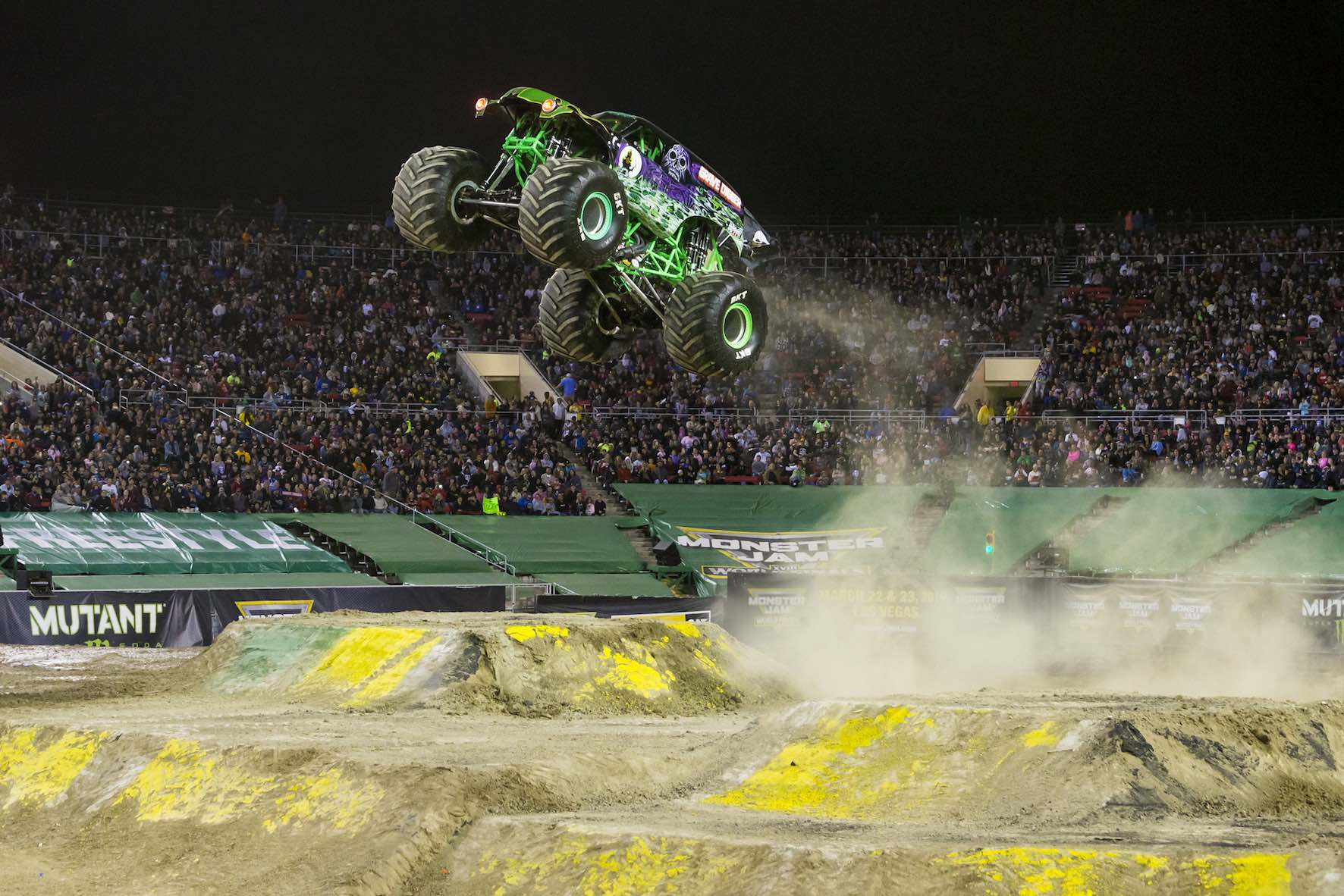 The Grave Digger Monster Truck is set to perform at Monster Jam in South Africa