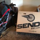 Time to pack the Mountain Bike into the SEND-IT Bike Box for travel