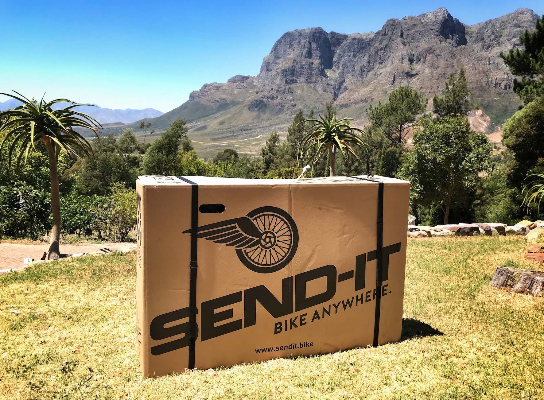 The SEND-IT Bike Box is the perfect companion for Mountain Bike travel