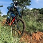 Downhill Mountain bike riding with the new Spank 350/359 Vibrocore Tuned Wheels