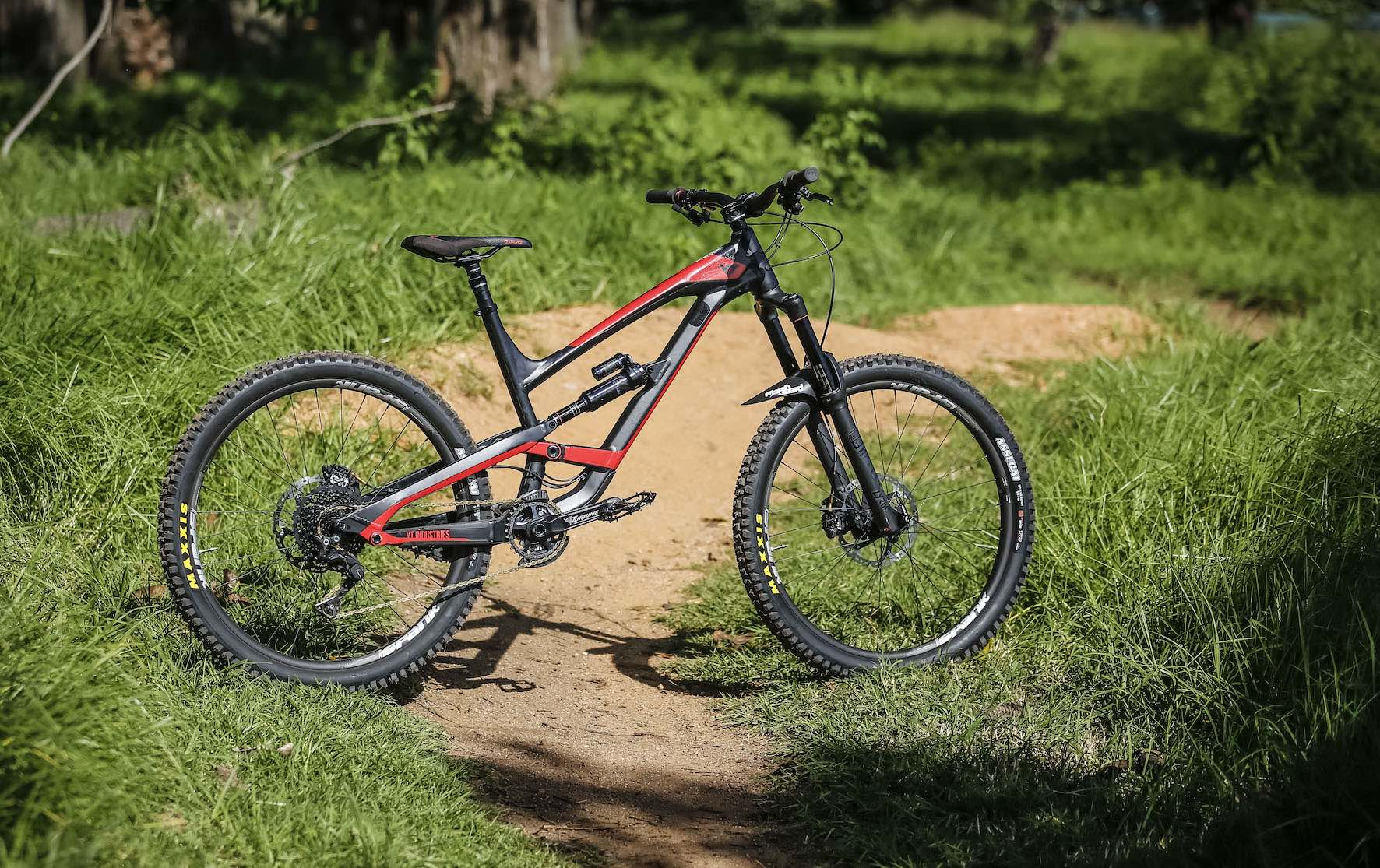 YT Industries Capra fitted ur with the latest Spank Bikes parts