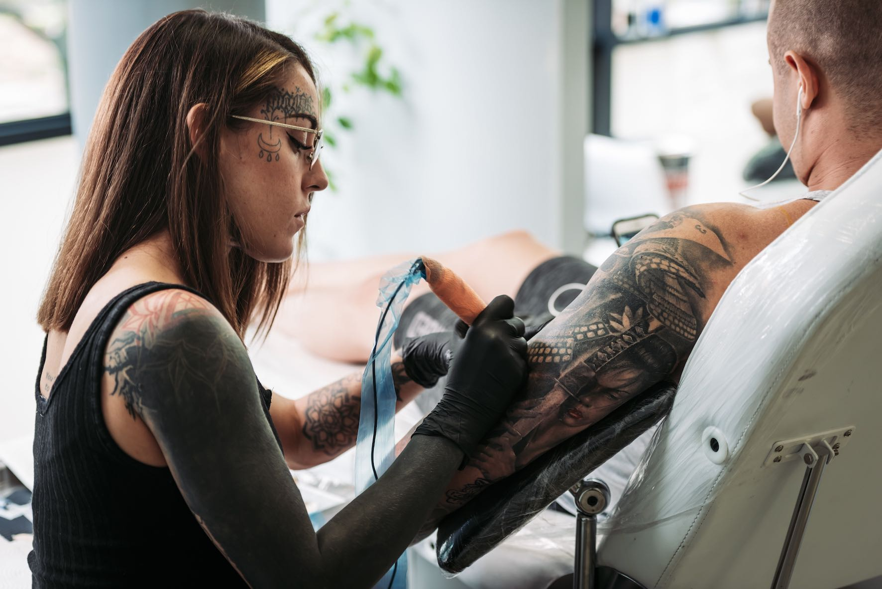We talks tattoos with Lileen van den Berg