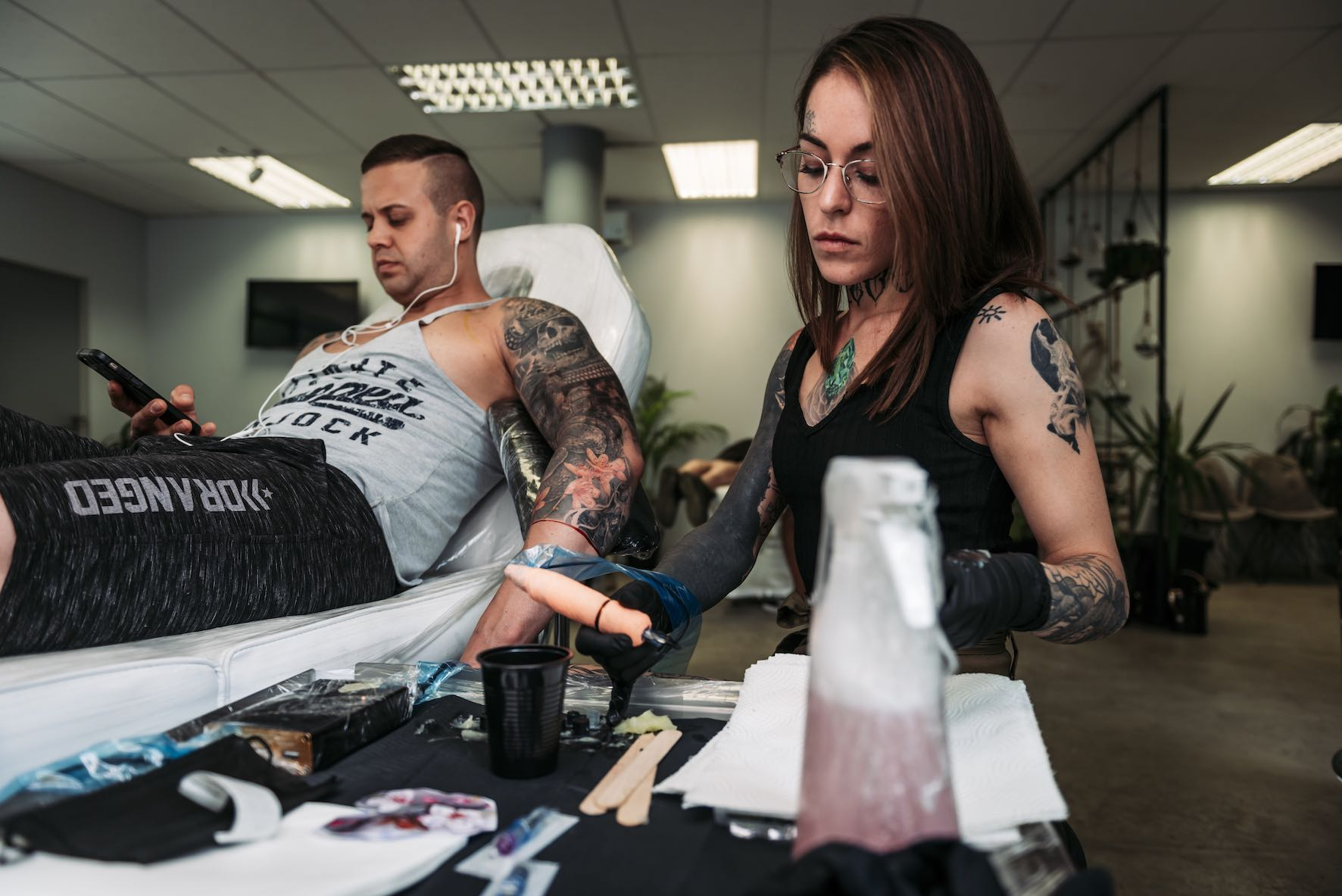 Meet Tattoo Artist Lileen van den Berg of Artrageous Tattoos