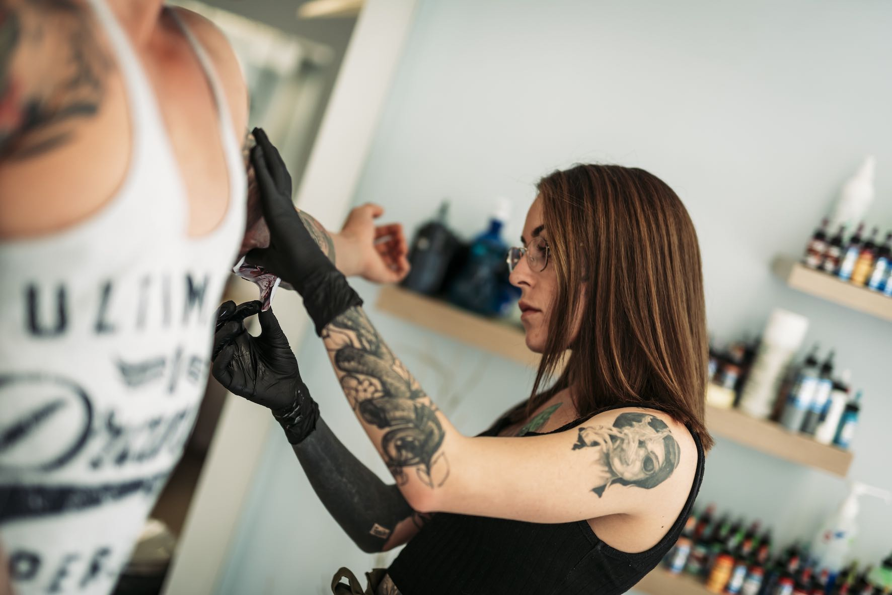 Exclusive interview with Tattoo Artist Lileen van den Berg working out of Artrageous Tattoos