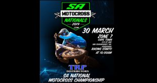 Details for Round 2 of the 2019 TRP Distributors South African MX Nationals