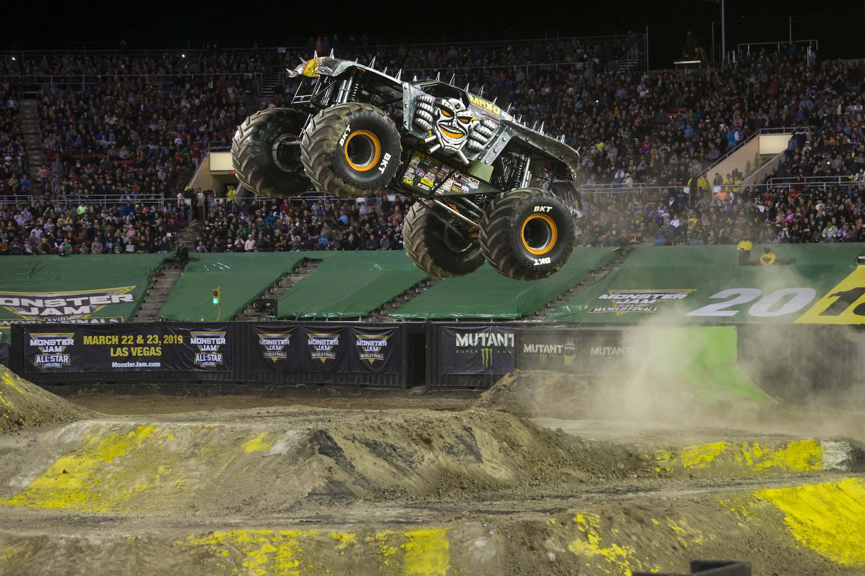 The Max-D Monster Truck is set to perform at Monster Jam in South Africa