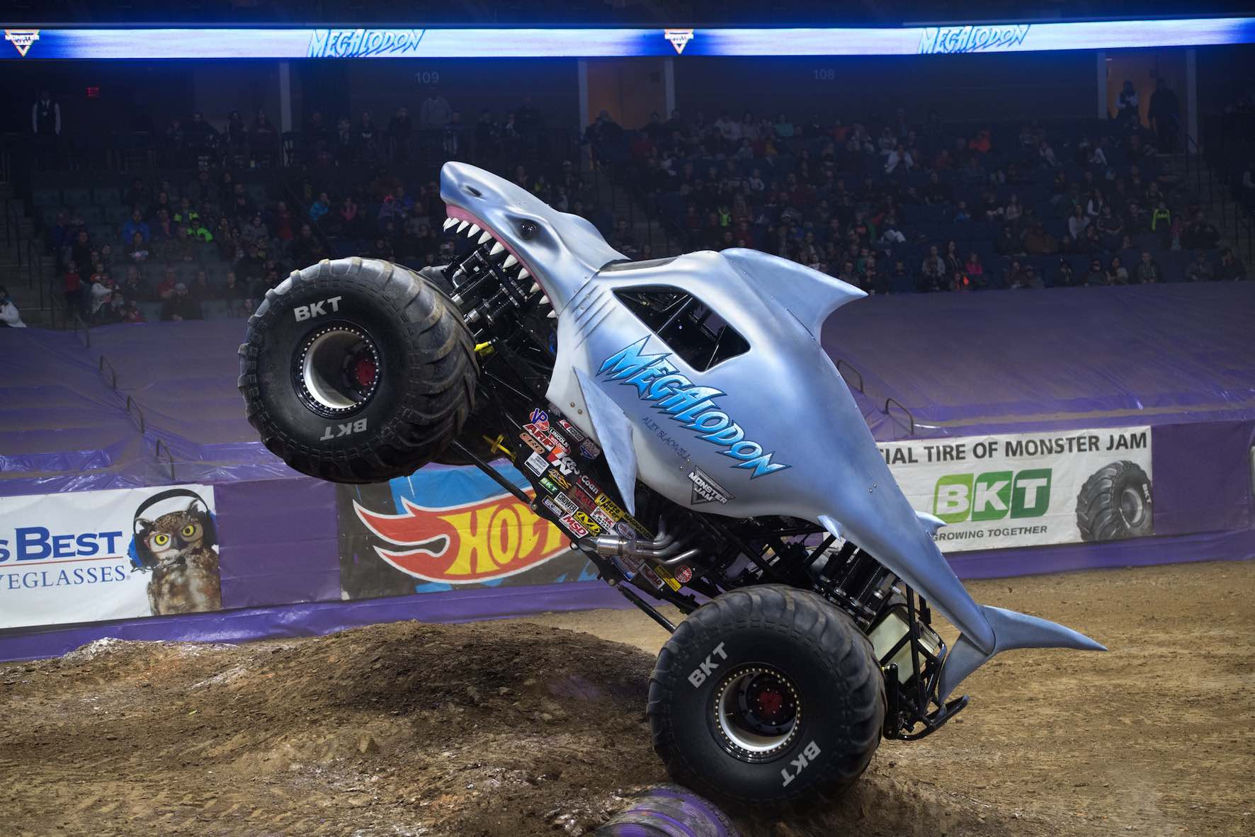 The Megaladon Monster Truck is set to perform at Monster Jam in South Africa
