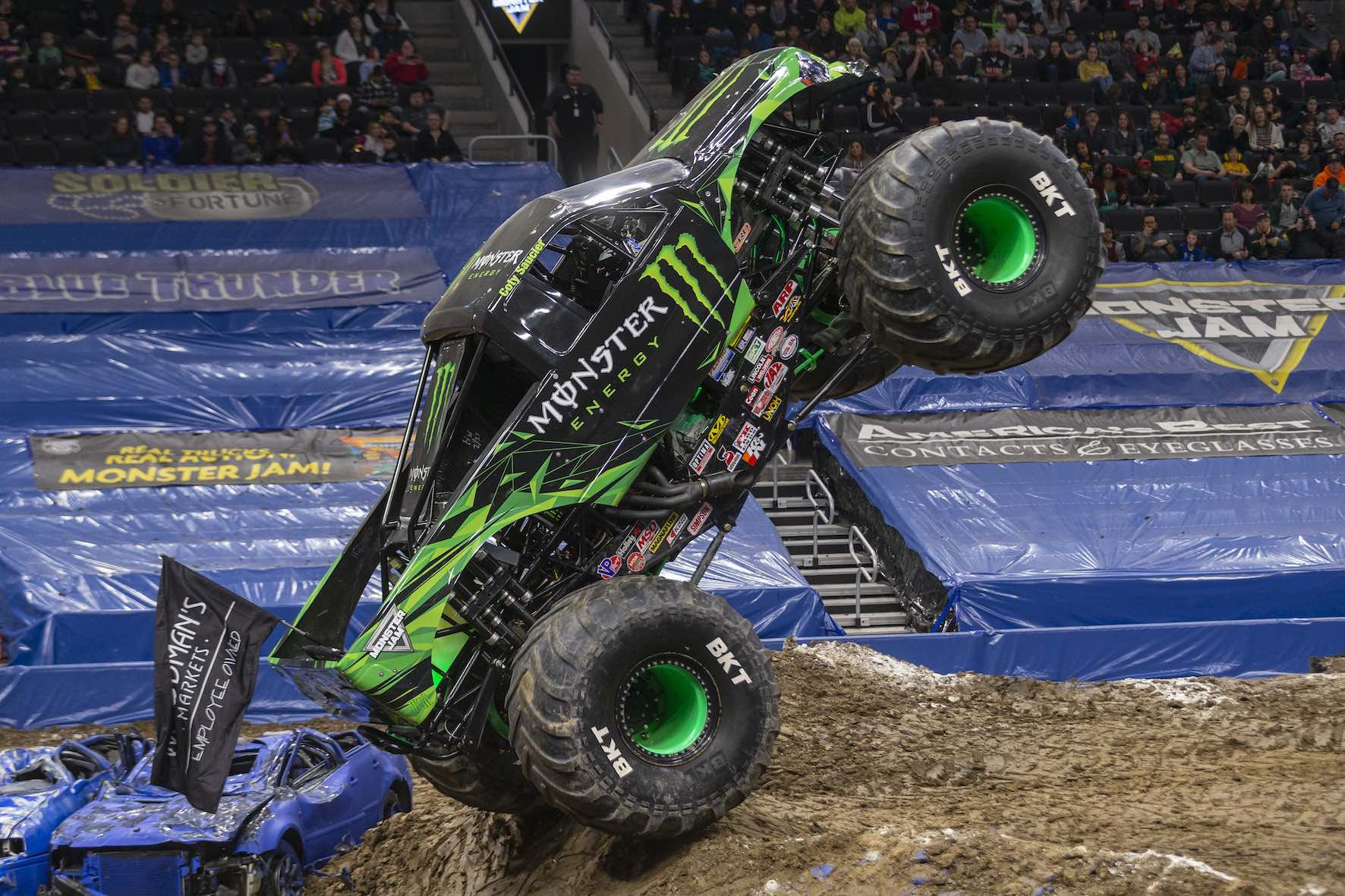 The Monster Energy Monster Truck is set to perform at Monster Jam in South Africa