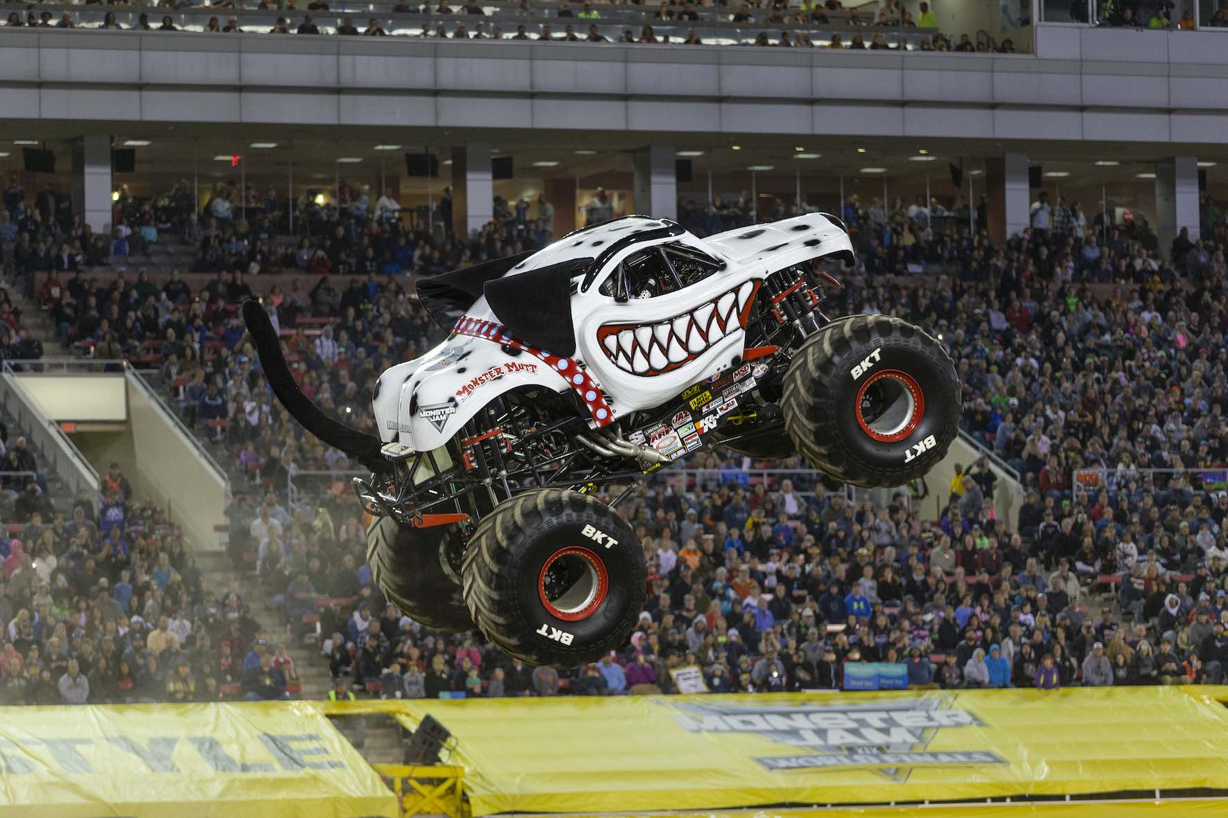 The Monster Mutt Dalmatian Monster Truck is set to perform at Monster Jam in South Africa