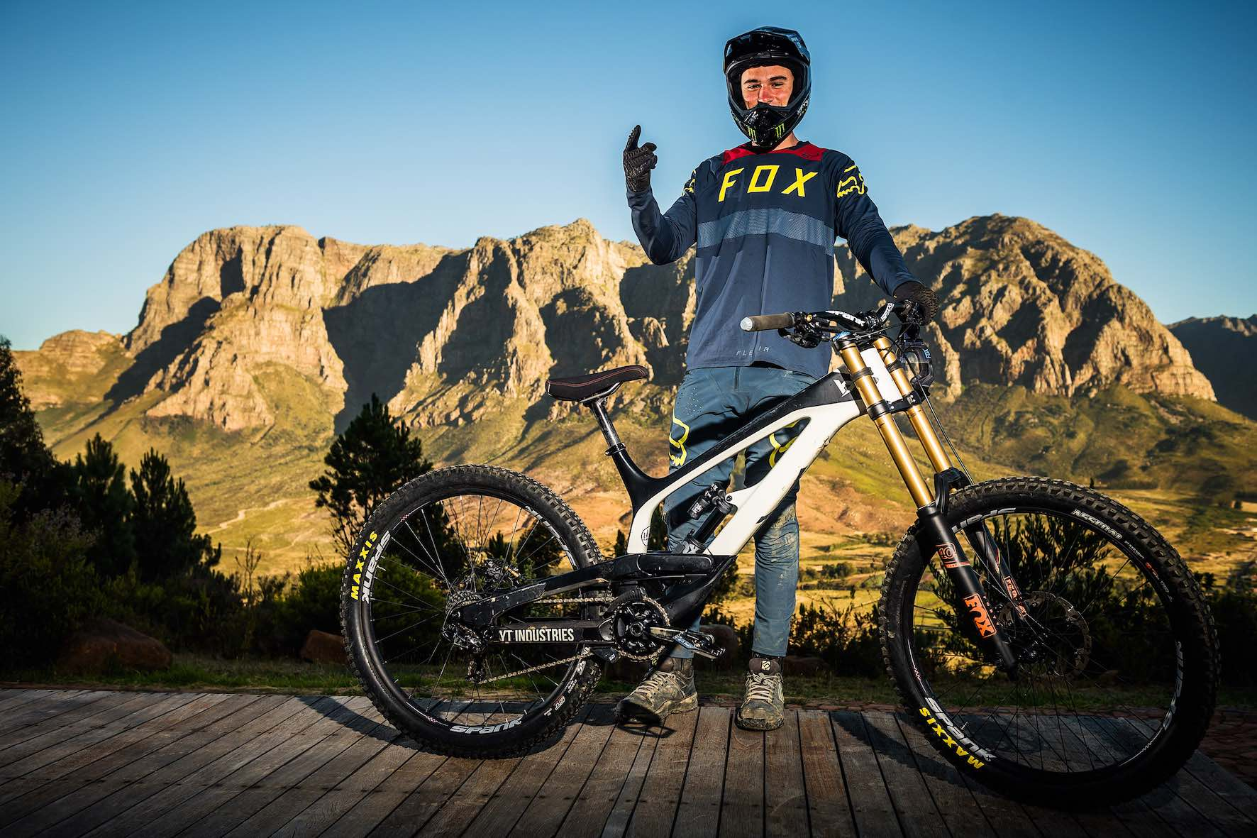 Interview with Freeride MTB rider, Theo Erlangsen about DarkFEST 2019