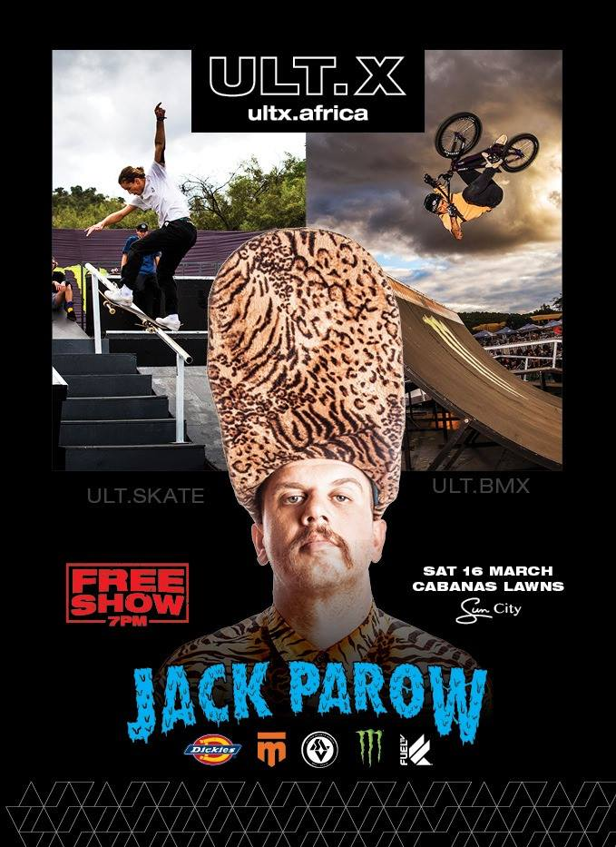 Jack Parow performance at UltX 2019 at Sun City