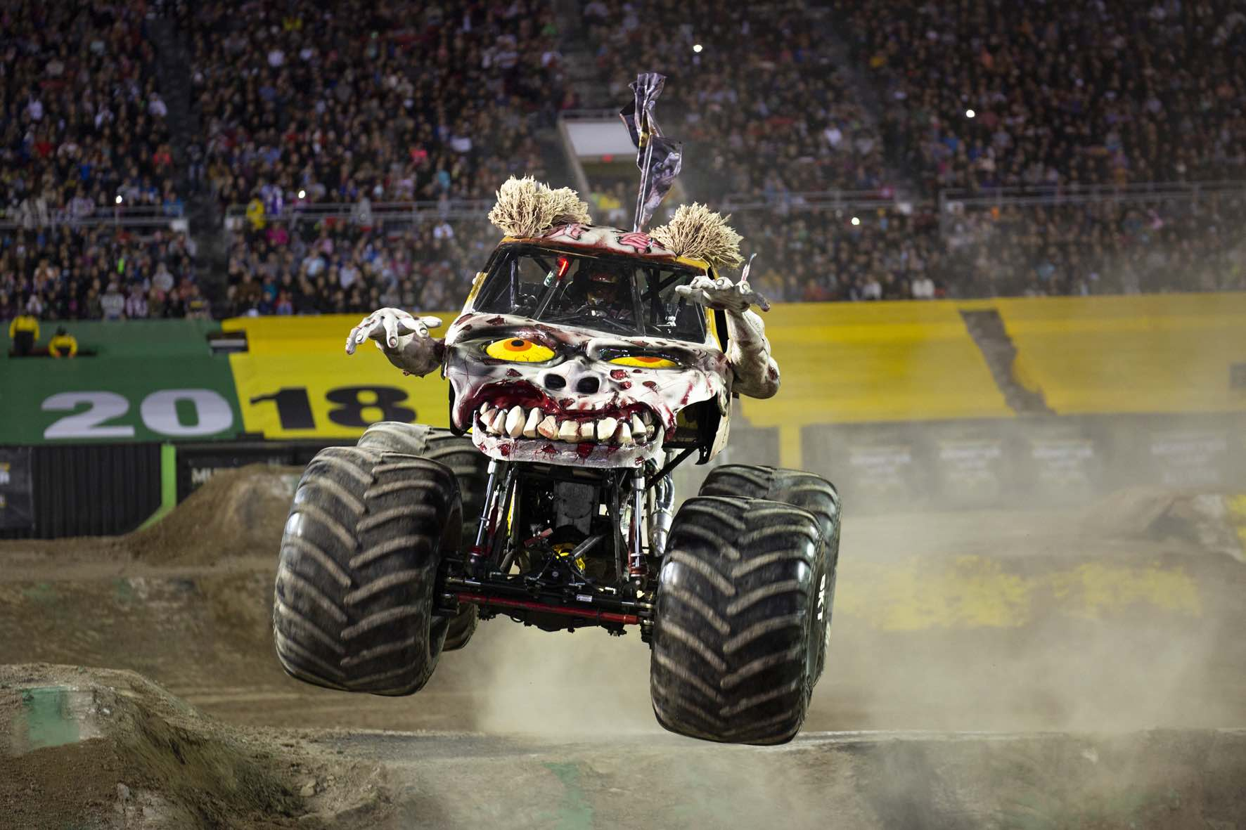 The Zombie Monster Truck is set to perform at Monster Jam in South Africa