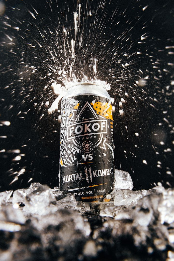 Fokof Lager vs Mortal Kombat 11 limited edition cans available soon