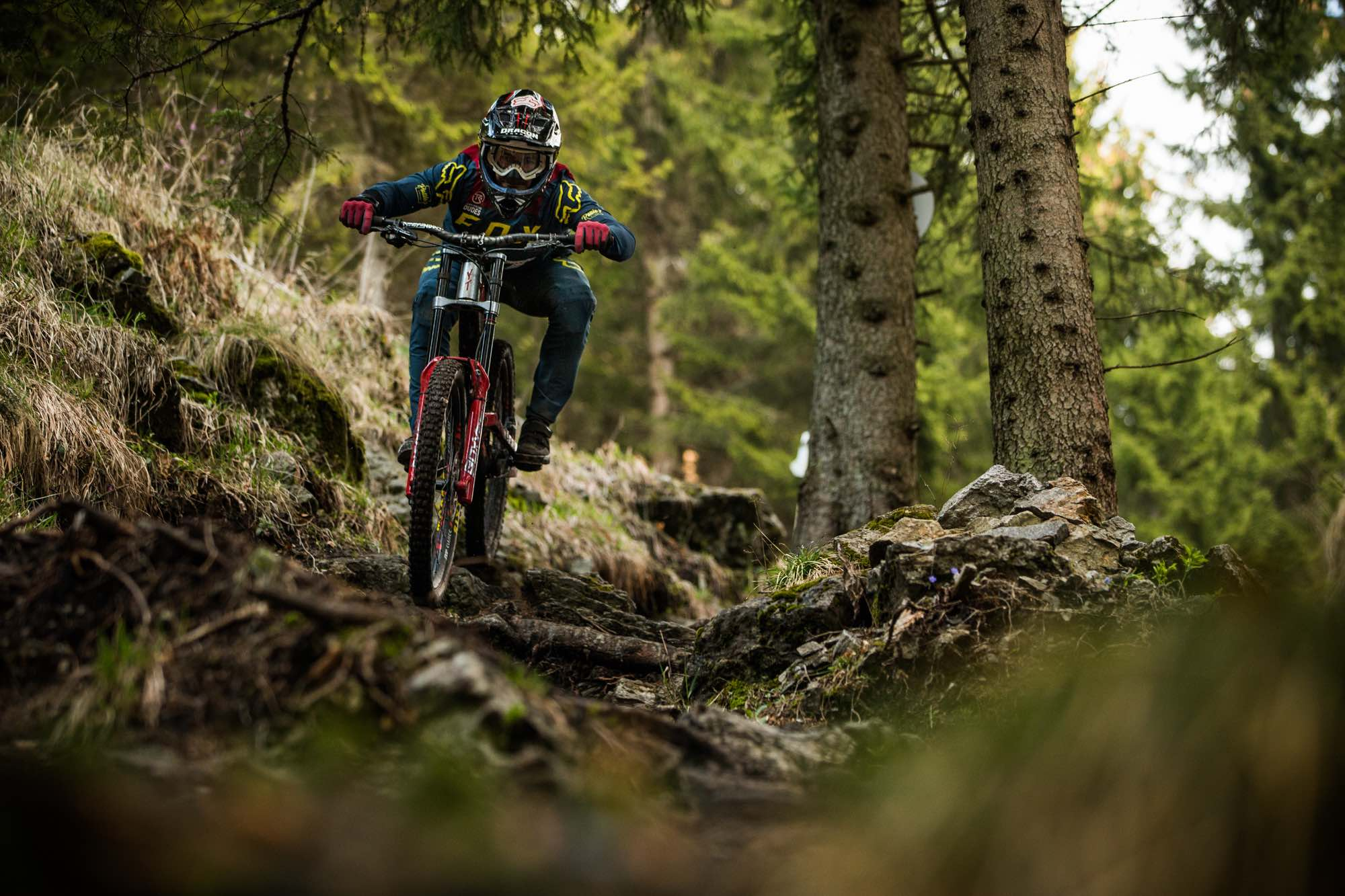 Interview with Johann Potgieter about the upcoming Downhill MTB world cup season