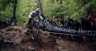 Review and results from the 2019 Downhill MTB World Cup from Maribor