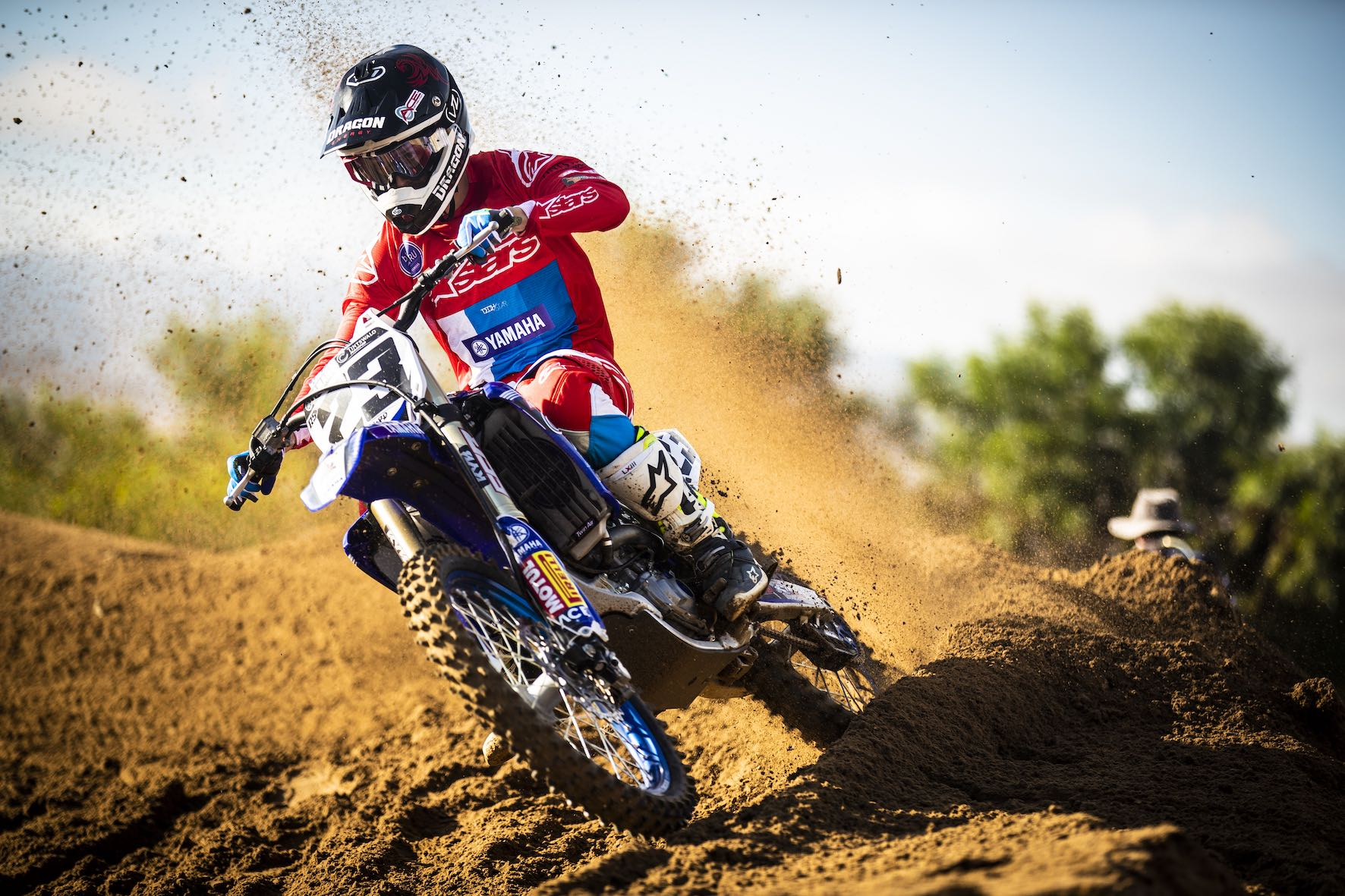 Anthony Raynard winning the MX2 Class at Round 2 of the 2019 TRP Distributors South African National Motocross Championship