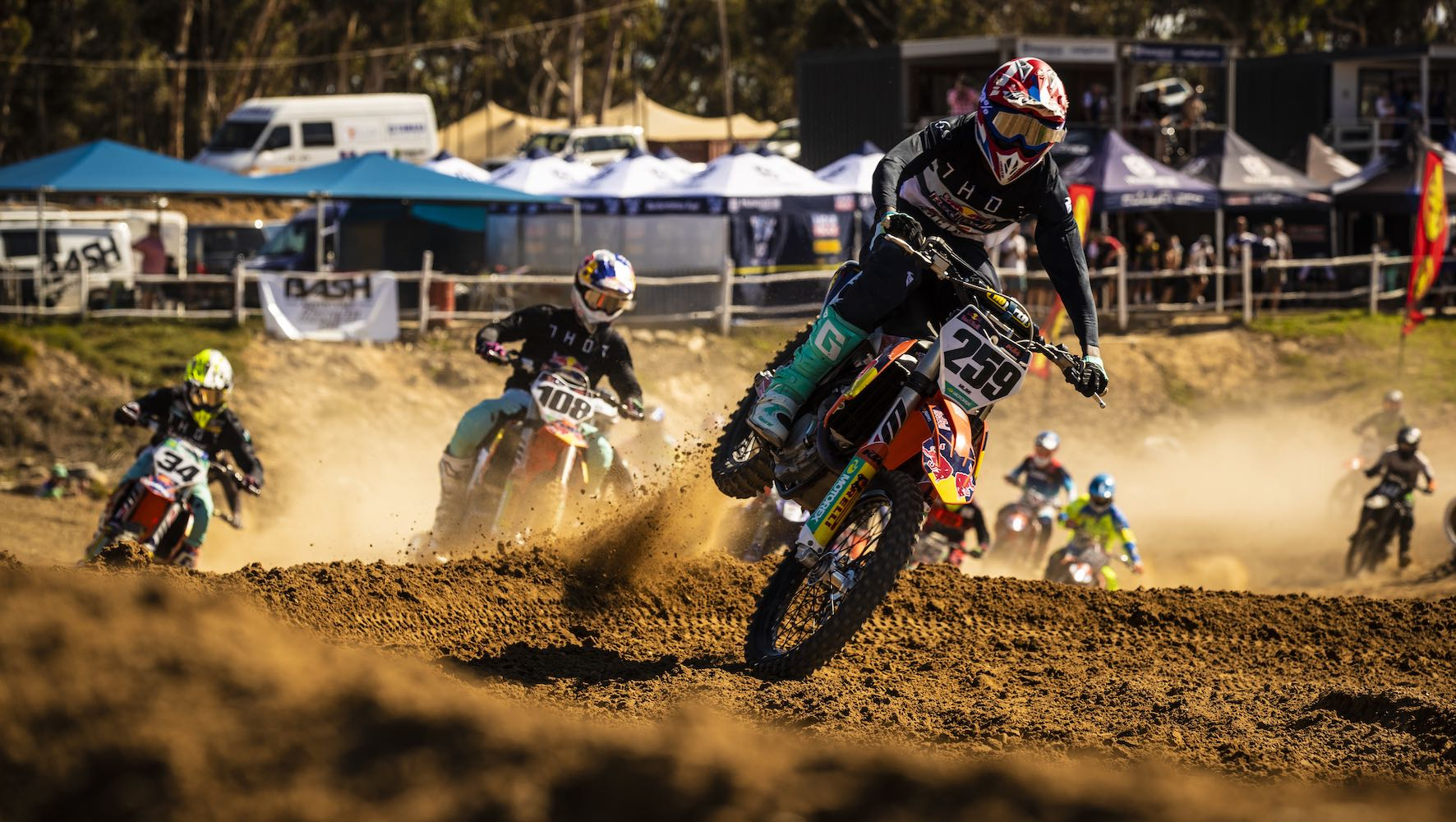 Race report from Round 2 of the Motocross Nationals